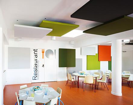 akustik yüzer tavan paneli kumaş kaplama fiyatları