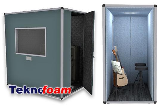akustik müzik stüdyo enstrüman kabini fiyatları