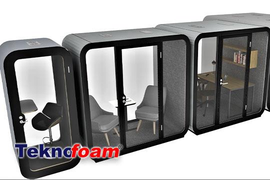 akustik ofis telefon toplantı kabini fiyatları