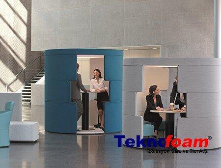 Akustik Ofis Toplantı Odası Kabini