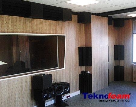 Akustik Stüdyo Süngerleri
