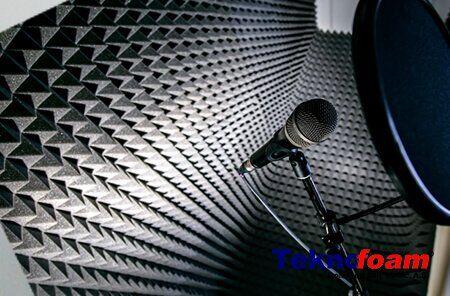 Akustik Sünger Ses Yalıtımı piramit sünger
