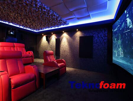 Ev Sinema Odası Ses Yalıtımı Fiyatları
