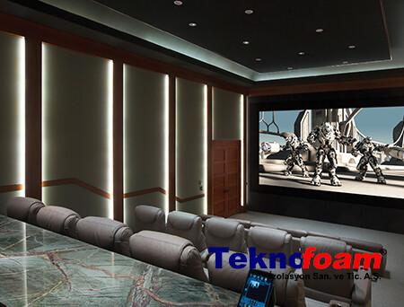 Evde Sinema Salonu Akustik Ses Yalıtımı
