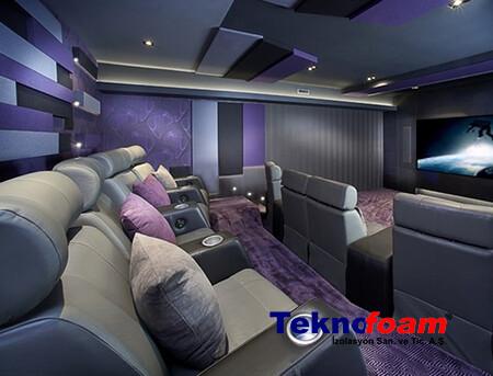 Evlerde Sinema Salonu Ses Yalıtımı