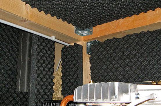 kompresör odası ses yalıtımı