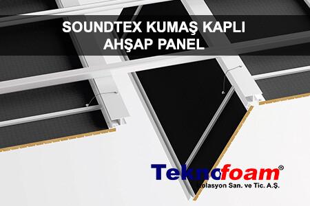 Soundtex Akustik Kumaş Kaplı Ahşap Panel