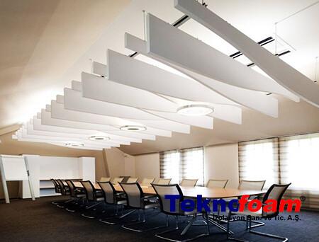 Toplantı Salonu Akustik Tavan Kaplama
