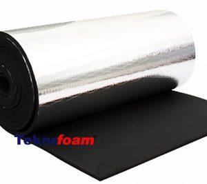 alüminyum folyolu elastomerik kauçuk yalıtım köpüğü