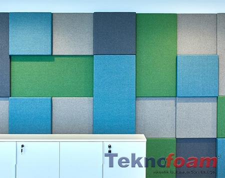 3d kumaş kaplı akustik panel