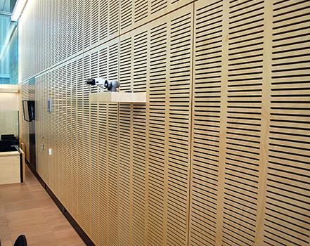 akustik derzli ahşap panelleri