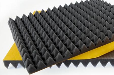 bariyerli yapışkanlı piramit sünger piramit sünger