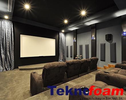 ev ses yalıtımı sinema