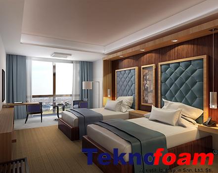 otel odası ses yalıtımı