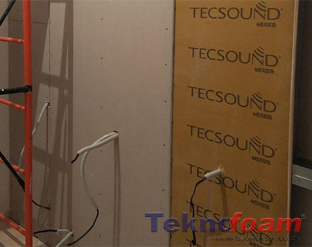 tecsound ses izolasyon bariyeri m2 fiyatları